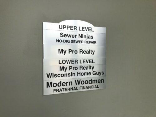 Interior Lobby Sign